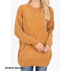 Oversized chenille sweater S,M,L, XL NWT
